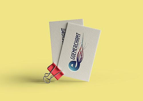GoEmerchant Logo Design