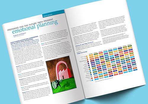 Deutsche Bank Brochure Design